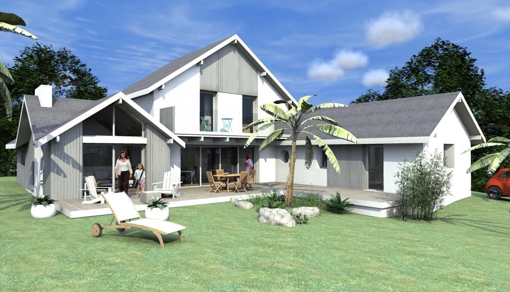 Construction d'une maison neuve à Saint-Nazaire