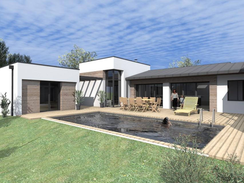 Extension et sur l vation d 39 une maison la baule for Acheter une maison a la baule