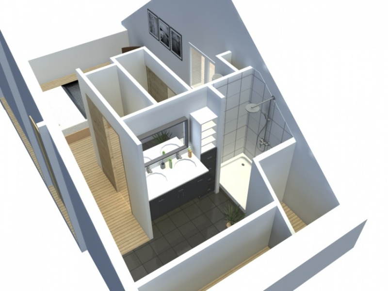 Am nagement d 39 une suite parentale pornichet atelier alias for Suite parentale 25m2