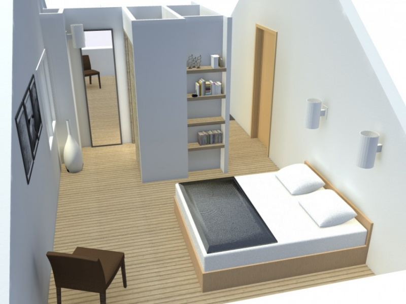 Am nagement d 39 une suite parentale pornichet atelier alias for Amenagement suite parentale combles