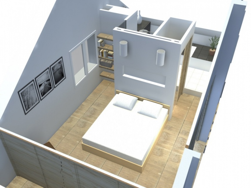 Am nagement d 39 une suite parentale pornichet atelier alias for Amenagement garage en suite parentale