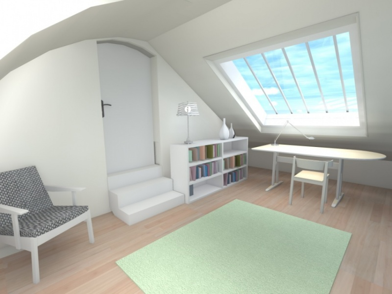 Aménagement atelier d'une villa à Pornichet
