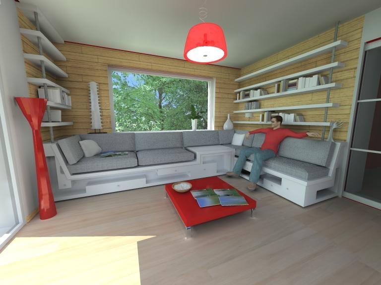 am nagement d 39 un salon de lecture st marc sur mer atelier alias. Black Bedroom Furniture Sets. Home Design Ideas