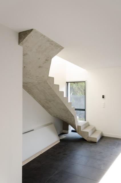 escalier béton la baule