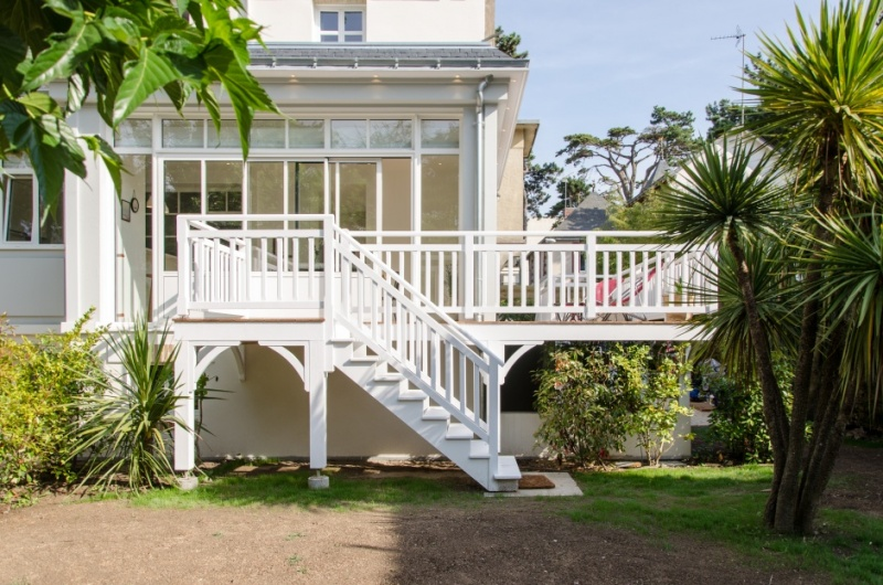 rénovation et extension maison la baule