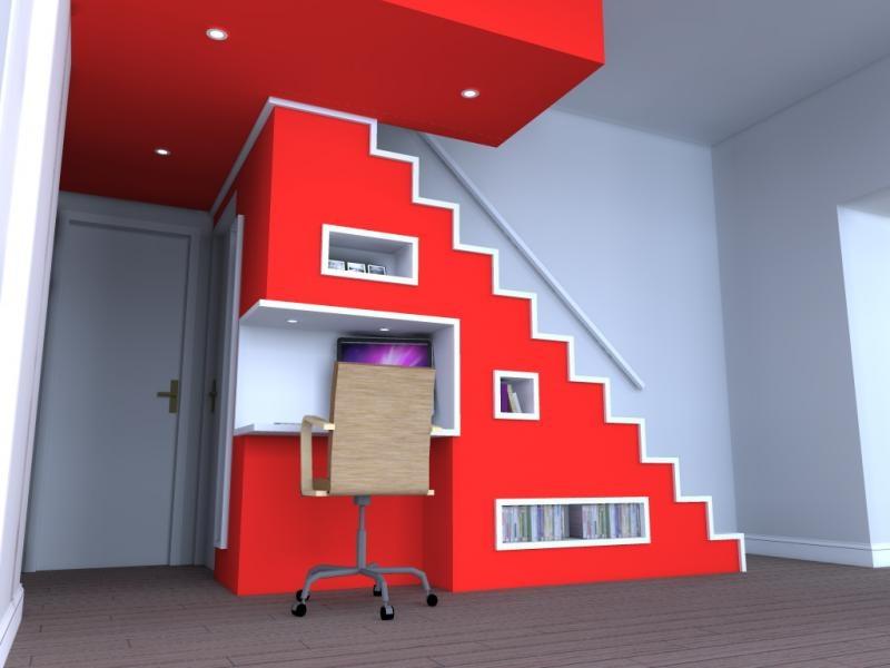 Création d'un escalier