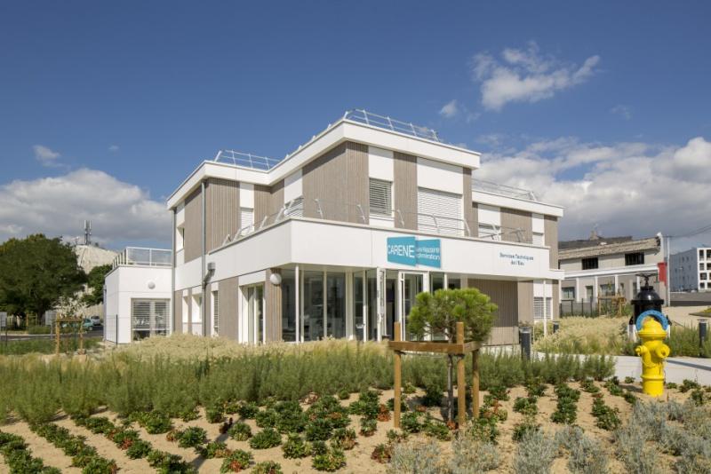architecture bureaux pour La Carène 44 saint-nazaire